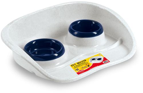 Подставка Set Dinner с двумя мисками 0,2 и 0,3 л для кошек и собак мелких пород