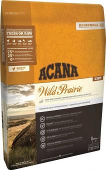 Acana 1,8кг Regionals  Wild Prairie Cat & Kitten сухой корм для котят и кошек курица, индейка,рыба, яйцо