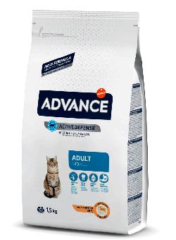 Advance 400 г Cat Adult ActiveDefense Сухой корм для взрослых кошек с курицей
