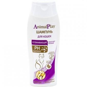 Animal Play (Энимал Плэй) Шампунь для кошек Успокаивающий с экстрактом мелиссы 250мл