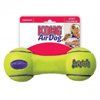 KONG игрушка для собак Air Гантель малая 13 см