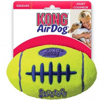KONG игрушка для собак AIR Регби малая 9см