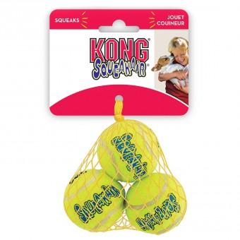 KONG Air игрушка для собак Air Теннисный мяч маленький (в упаковке 3шт)