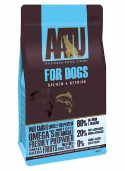 AATU Salmon & Herring 10 кг Корм для взрослых собак Лосось и Сельдь