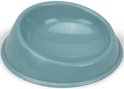 Beeztees Миска для кошек пластиковая голубая 15см