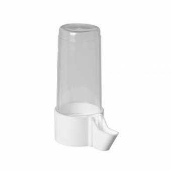 Beeztees Поилка для птиц евро-клик мини пластиковая белая 4*9см