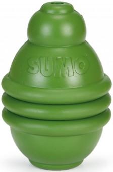 Beeztees Игрушка для собак Sumo Play зеленая 6*6*8см