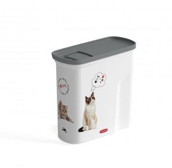Curver Контейнер для корма Любимые котята малый на 2 л, 21x9x19 см