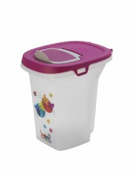 Moderna Контейнер для корма 6л Друзья навсегда фиолетовый
