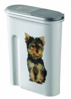 Curver pet life контейнер 1,5 кг/4,5л, 25*10*30смдля собак 3903