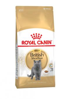 Royal canin 0,4кг British shorthair Сухой корм для кошек британская короткошерстная