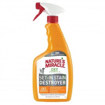 Nature's Miracle 709мл Уничтожитель пятен и запахов Окси-формула для собак 709мл NM Dog Oxy Formula Spray