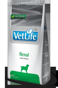 Farmina 2кг Vet Life Dog Renal Диета для собак при застойной сердечной недостаточности и почечной недостаточности