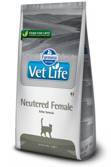 Farmina 2кг Vet Life Cat Neutered Female Диета для стерилизованных кошек
