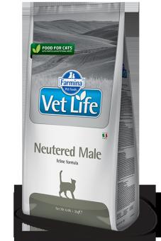 Farmina 2кг Vet Life Cat Neutered Male Диета для кастрированных котов