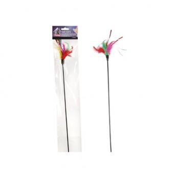 Flamingo Игрушка для кошек Дразнилка с перьями