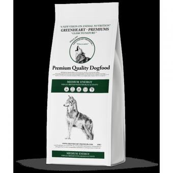 Greenheart-Premiums 4кг Medium Energy Сухой повседневный корм для взрослых собак