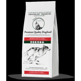 Greenheart-Premiums 15кг Sportline CLASSIC Сухой корм для взрослых спортивных и рабочих собак