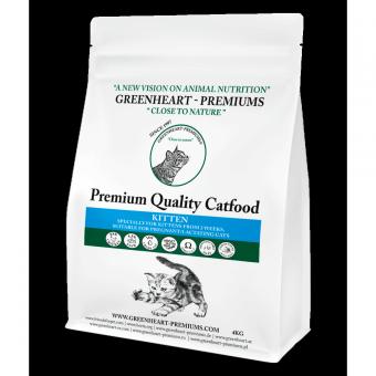 Greenheart-Premiums 1,5кг CATFOOD KITTEN Сухой корм для котят