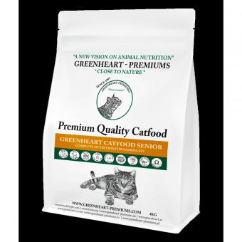 Greenheart-Premiums 1,5кг Catfood SENIOR CAT Сухой корм для правильного питания возрастных кошек старше 7 лет