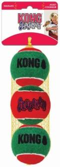 KONG Holiday игрушка для собак SqueakAir® 3 мяча (1 мяч - 6 см)