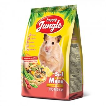 Happy Jungle (Хэппи Джангл) 400 г Корм для хомяков