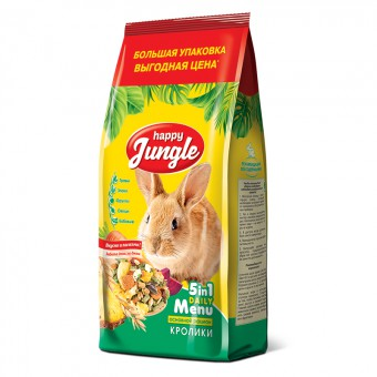 Happy Jungle (Хэппи Джангл) 900 г Корм для кроликов