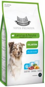 Hau-Hau 10 кг Champion SP Lamb Grain Free Корм для собак всех пород ягнёнок, беззерновой