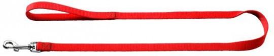 Hunter поводок для собак, длина 1,1 м, ширина 10 мм, Smart Ecco нейлон красный