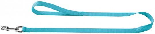 Hunter поводок для собак, длина 1,1 м, ширина 10 мм, Smart Ecco нейлон бирюзовый