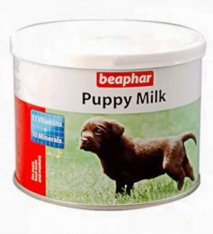 Beaphar Puppy-Milk 200г Молочная смесь для щенков, банка