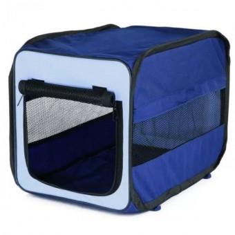 TRIXIE TCamp 31*33*50см TCamp Транспортная сумка складная   терракотовый/черный нейлон