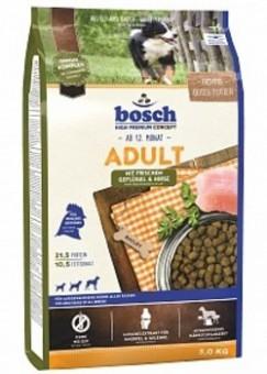 Bosch 1кг Adult сухой корм с птицей и просом
