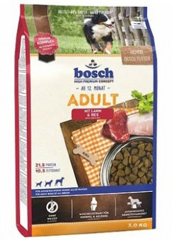 Bosch 3кг Adult сухой корм с ягненком и рисом