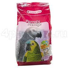 Prestige 15кг Корм для крупупных попугаев Parrots
