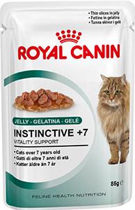 12 шт. Royal canin 85 г. Instinctive +7 Влажный корм для кошек старше 7 лет в соусе