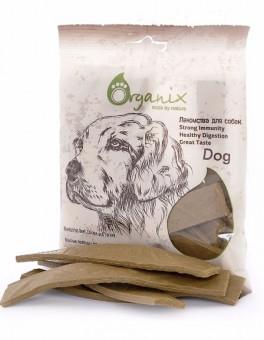 Organix 100г Drumsticks Лакомства для собак Мясные полоски с говядиной, цыпленком и индейкой
