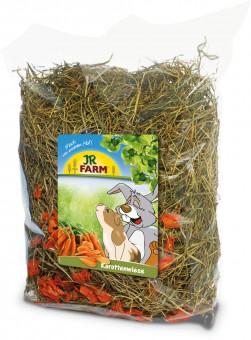 JR FARM Сено с добавлением моркови 500г