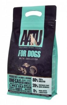AATU Fish with Shellflsh 10 кг Корм для взрослых собак Рыба и Ракообразные