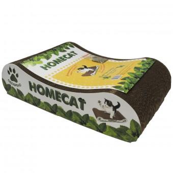"""Homecat 41*24*10 см Когтеточка картонная для кошек """"волна"""""""