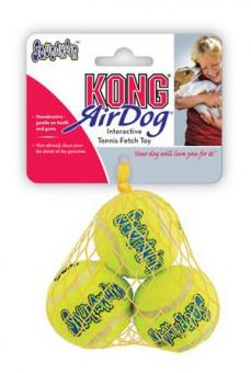 KONG Air игрушка для собак Air Теннисный мяч очень маленький (в упаковке 3шт)