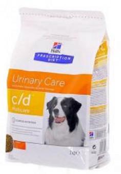 Hill's 12кг Prescription Diet С/D для собак от МКБ, струвиты, Urinary