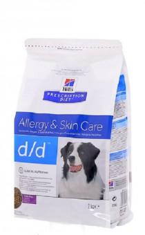 Hill's 2кг Prescription Diet D/D утка и рис, лечение пищевых аллергий и непереносимости, D/D Duck&Rice