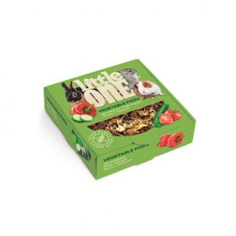 Little One 55 г лакомство для всех видов грызунов пицца с овощами