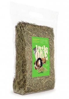 Little One 1 кг Горное непрессованное сено для грызунов