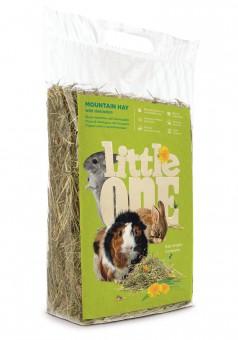 Little One 400 г Горное непрессованное сено с одуванчиком для грызунов