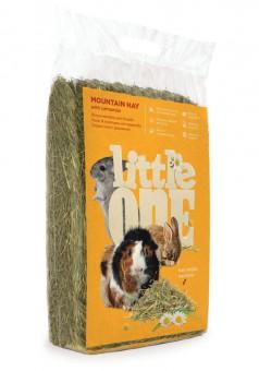 Little One 400 г Горное непрессованное сено с ромашкой для грызунов
