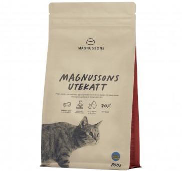 Magnussons Utekatt (Магнуссонс Утекат) 800г Корм для взрослых кошек и котят с нормальным и повышенным уровнем активности