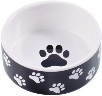 КерамикАрт Миска для собак Лапки 420 мл