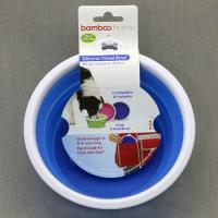 Bamboo Миска для собак (складная), объем 710 мл, силикон,  Silicon Travel Bowl (2 cup)